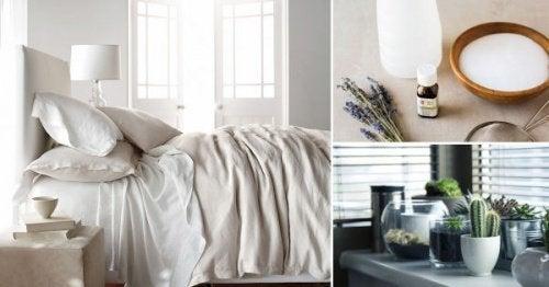 8 трика за естествено дезинфекциране на стаята ви