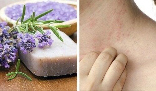 Специални домашни сапуни за чувствителна кожа и дерматит