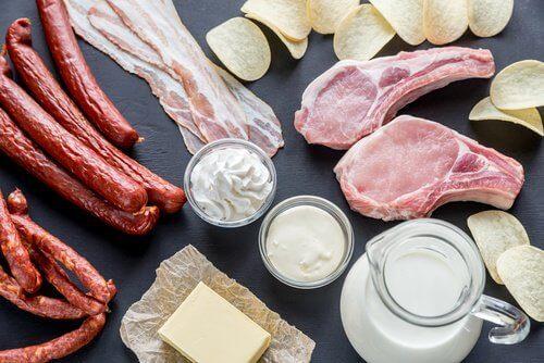 Храни, които провокират появата на киселините