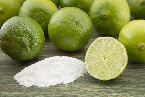 вижте как да приготвите дезодорант от сода за хляб и лимон
