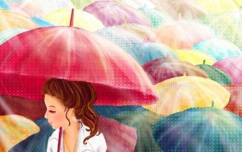 Цветни чадъри за облачни дни