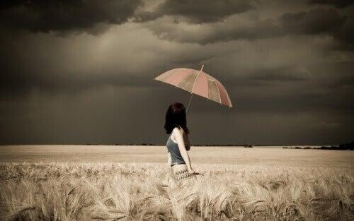 Цветни чадъри защита от бурята