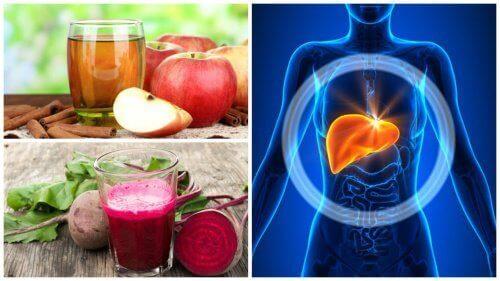 5 домашно приготвени напитки за детоксикация на черния дроб