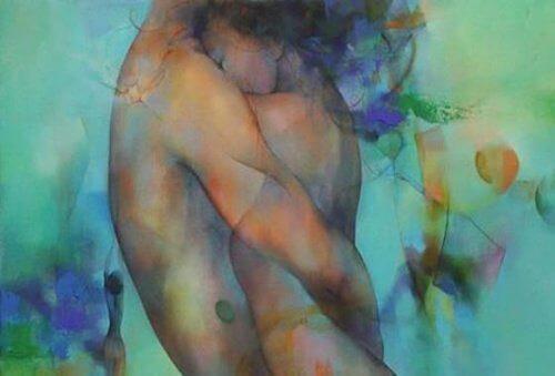 Проявяването на обич е като докосване душата на другия