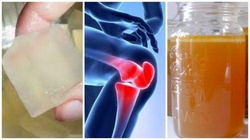 3 желатинови лека за болките в ставите