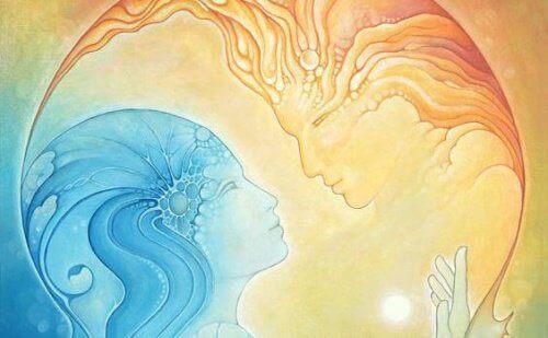 Обичта е форма на енергия, която тече между хората