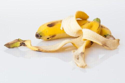 банановите кори са ефикасно средство срещу брадавиците