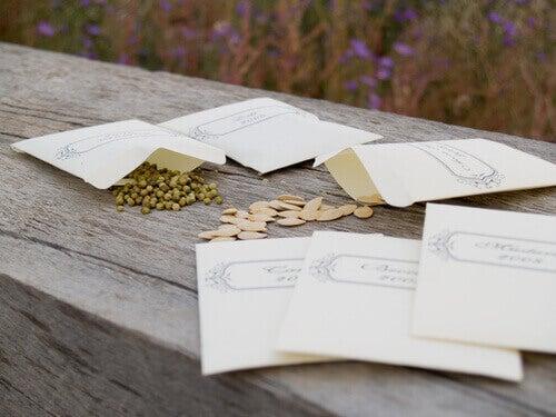 приложения на кухненската хартия за тестване на семената