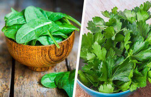 лекуване на черния дроб със зелени зеленчуци
