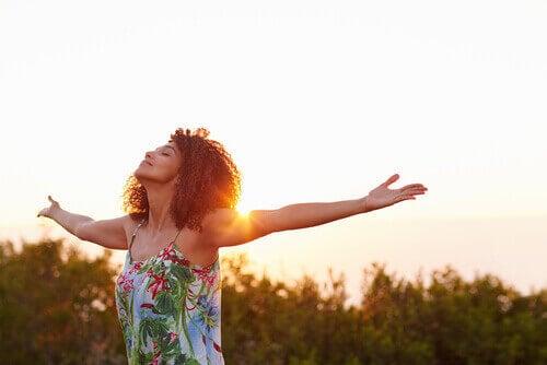 За да имате положителна нагласа: обръщайте внимание на хубавите неща.