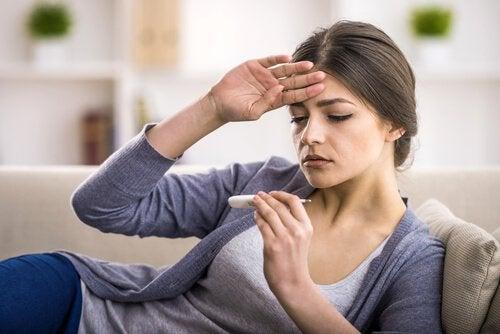 Треска при апендицит