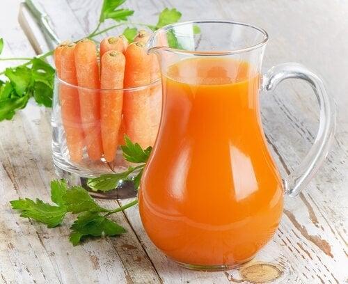 Свойства на морковения сок