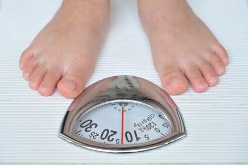 качване на килограми