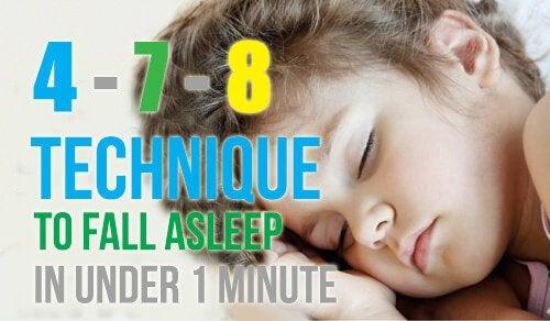 Искате ли да заспите за по-малко от 1 минута?