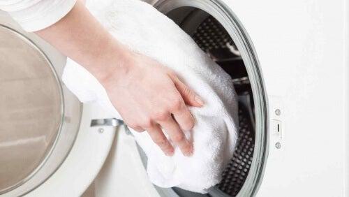 грижа за кърпите у дома