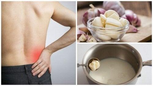 Проста рецепта: чесново мляко за успокояване на ишиаса