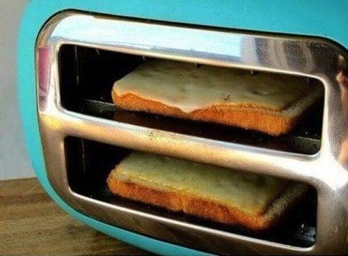 оптимизирайте домакинската работа - направете си тостове, без да използвате фурна