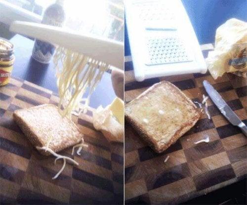 оптимизирайте домакинската работа - използвайте ренде за твърдото масло