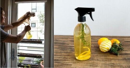 Освежител за въздух с лимоновите кори