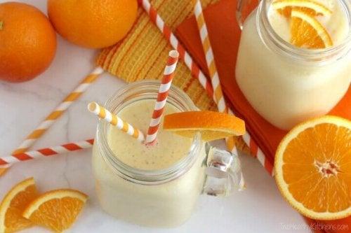 портокалово смути
