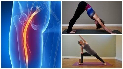 Йога упражнения при проблеми със седалищния нерв