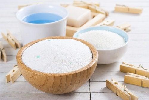 домашен прах за пране за по-меки кърпи