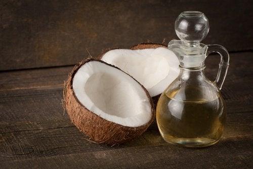 поразителни мигли - кокосово масло