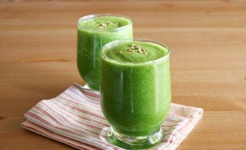 зелено смути против безсънието