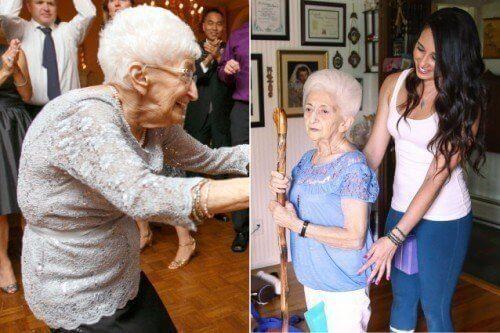 Как йога промени позата и живота на 87-годишна жена