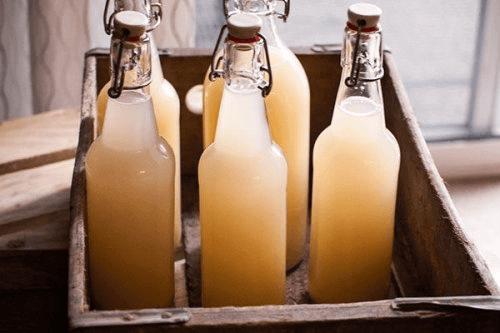 Домашна джинджифилова бира