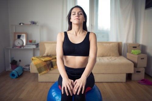 Дълбокото дишане е изключително важно по време на пристъп на паника.