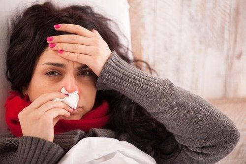 използването на канела помага при грип