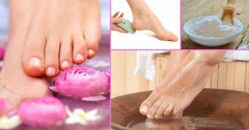 Научете се да използвате сода, за да третирате гъбичките по ноктите