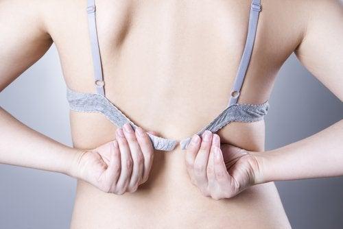 носенето на сутиен - неговия ефект върху жените