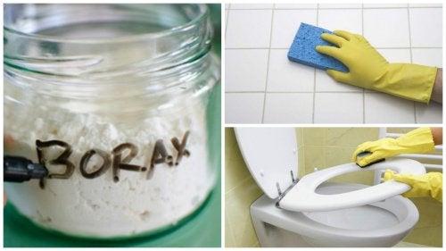 8 начина да използвате боракс у дома