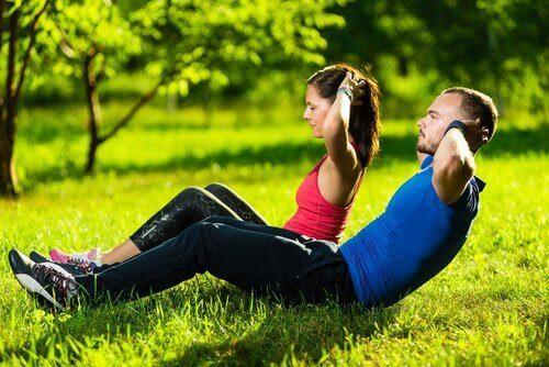 Упражнения за укрепване на коремните мускули