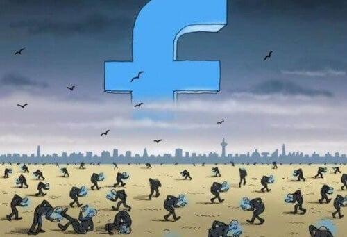 онлайн тормозът в социалните мрежи се увеличава.