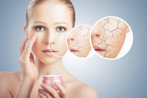Сухата кожа е знак, че не пиете достатъчво вода