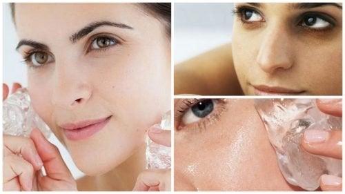 7 ползи от прилагането на лед върху кожата