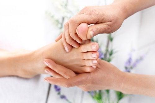 6 части от тялото, които трябва да масажирате