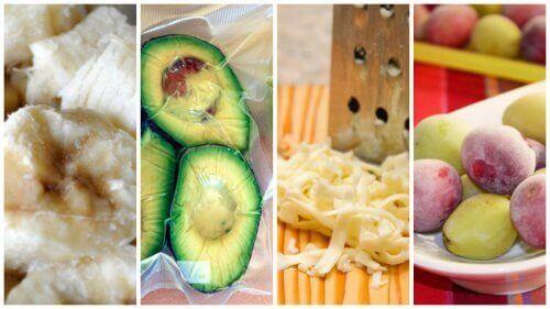 Храните, които могат да бъдат замразени