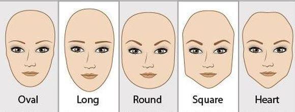 Оформяне на веждите при сърцевидно лице