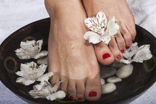 Добрата хигиена на краката предпазва от появата на гъбички.