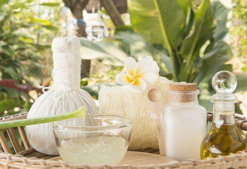 Терапия с алое и кокос