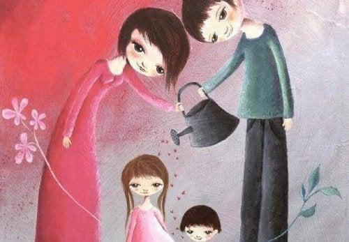 Да отгледаш деца не означава просто да ги създадеш, а да им дадеш свободата да изградят себе си