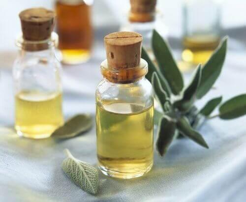 Етерично масло от градински чай