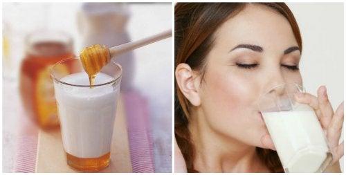7 причини да пиете мляко с мед преди лягане