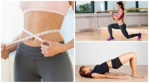 Упражнения за сваляне на няколко сантиметра от талията