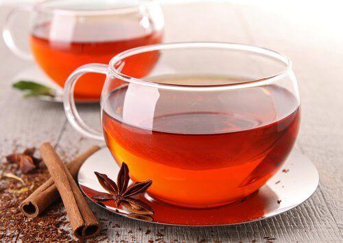 Чай от канела с английски чай