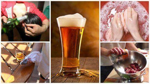 9 алтернативни домашни употреби на бирата